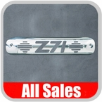 1999-2007 Chevy Truck Third Brake Light Cover Polished Aluminum Finish w/ Z71 Cutout Sold Individually All Sales #94010P