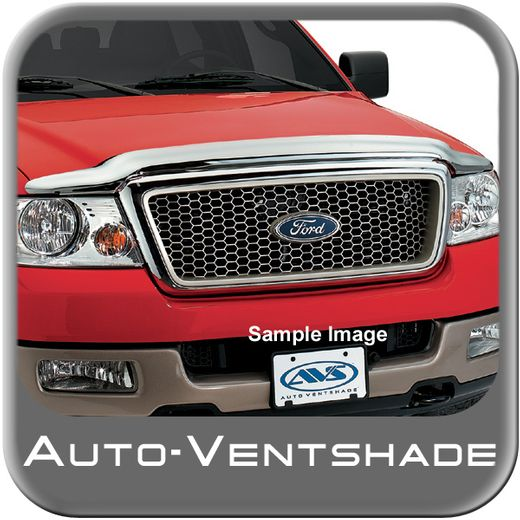 Ford F350 Truck Bug Deflector 1999-2007 Hood Shield Wrap Style Chrome Auto Ventshade AVS #680706