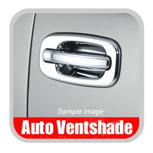 GMC Sierra Truck Chrome Door Handle Covers 1999-2007 Handle & Bucket Set Chrome Plated ABS 2-piece Set Auto Ventshade AVS #685205