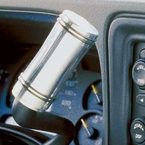 GMC Truck Shift Lever Cover (1999-2007) Polished Aluminum Covers Existing Shift Knob Sold Individually All Sales #9404