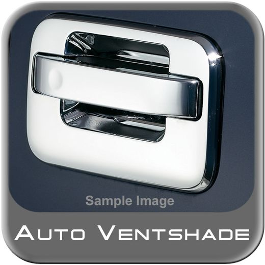 Ford F450 Truck Chrome Door Handle Covers 1999-2015 Handle & Bucket Set Chrome Plated ABS 4-piece Set Auto Ventshade AVS #685104