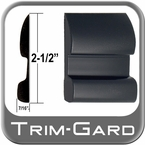 "2-1/2"" Wide Black Body Side Molding Sold by the Foot, Trim Gard® # CV92-01"