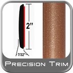 "2"" Wide Copper Molding Trim ( PT80 ), Sold by the Foot, Precision Trim® # 1490-80-01"