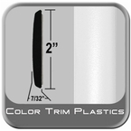 "2"" Wide White Molding Trim (PT59) Sold by the Foot Precision Trim® #5590-13"