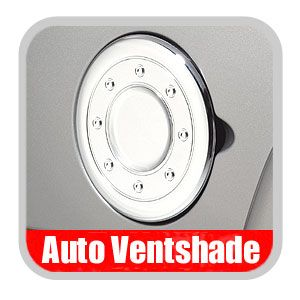 Chevy Suburban Chrome Fuel Door Cover 2000-2006 Chrome Plated ABS Auto Ventshade AVS #688773
