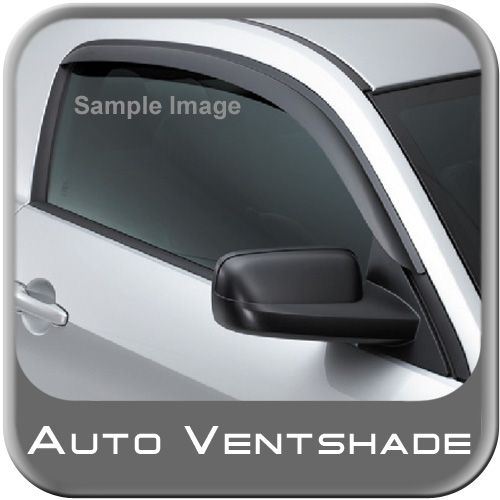Honda Civic Rain Guards / Wind Deflectors 2001-2005 Ventvisor Dark Smoke Acrylic Front Pair Auto Ventshade AVS #92311