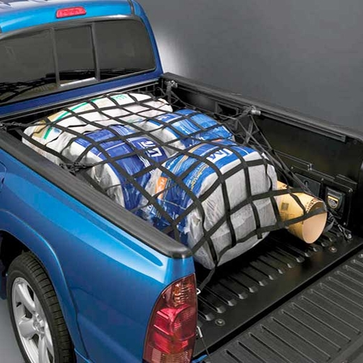 Toyota Tacoma Truck Cargo Net 2001-2015 Bed Web Style Bed Net Black Standard or Short Bed Sold Individually Genuine Toyota #PT347-35051
