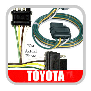 7 round wiring harness new  2003 2004 toyota sequoia trailer wiring harness genuine toyota  toyota sequoia trailer wiring harness