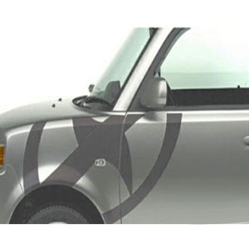 Scion xB Body Graphics 2003-2005 Scion Logo Driver's Side Gray Sold Individually Genuine Scion #PT211-52L42-01