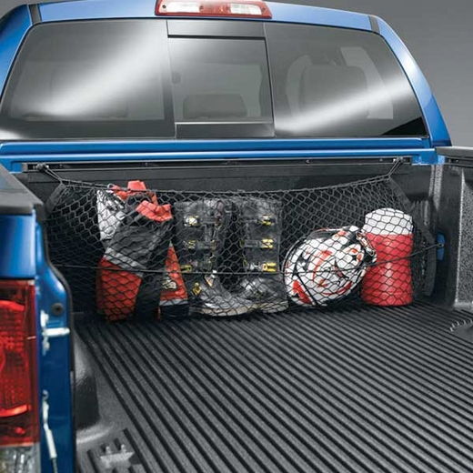 Toyota Tundra Truck Cargo Net 2003-2006 Envelope / Pocket Style Exterior, Bed Mount Black Sold Individually Genuine Toyota #PT347-34030