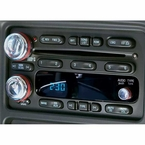 2003-2008 Chevy Truck Radio Knobs Polished Billet Aluminum All Sales #9416