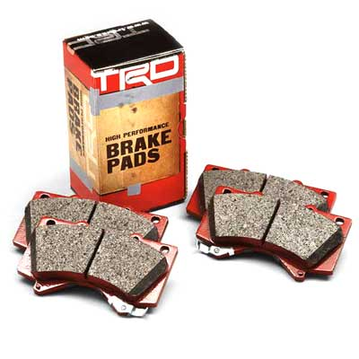 Toyota Brake Pads High Performance Pad Set Front Set Genuine Toyota #PTR09-02080