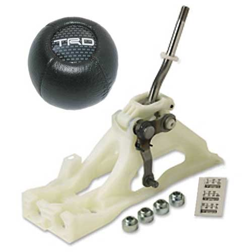 Scion Quickshifter Kit Leather Shift Knob Included TRD/Scion Performance Genuine Toyota #PTR04-52041-50