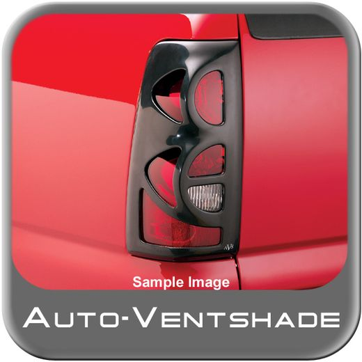 Saturn Ion Tail Light Covers 2004-2007 Tail Shades 2 Smoked Acrylic, Paintable Contour Style Taillight Covers 2-piece Set Auto Ventshade AVS #35405
