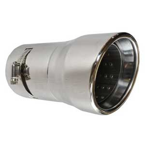 Toyota Land Cruiser Exhaust Tip 2004-2007 Stainless Steel Tip Sold Individually Genuine Toyota #PTS18-60050