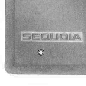 Toyota Sequoia Carpeted Floor Mats 2004-2007 Light Charcoal 4-Piece Set Genuine Toyota #PT206-0C050-11