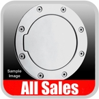 2004-2012 GMC Canyon Fuel Door Non-Locking Style Billet Aluminum, Polished Aluminum Finish Sold Individually All Sales #6096P