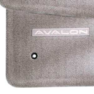 Toyota Avalon Carpeted Floor Mats 2005-2012 Light Gray 4-Piece Set Genuine Toyota #PT206-07090-17