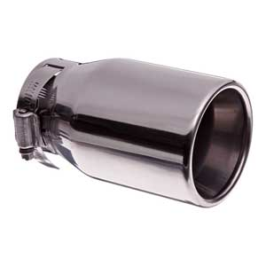 Toyota RAV4 Exhaust Tip 2006-2012 Stainless Steel by Valor Sold Individually Genuine Toyota #PT18A-42090
