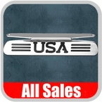 2007-2008 Ford Explorer Sport Trac Third Brake Light Cover Polished Aluminum Finish w/ USA Cutout Sold Individually All Sales #55504P