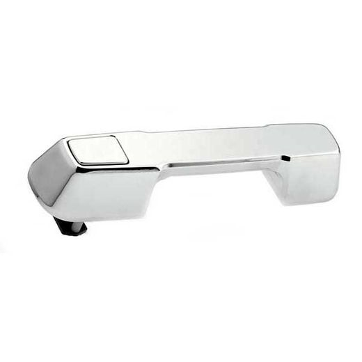 2007-2012 Jeep Wrangler Tailgate Handle Assembly Polished Aluminum Finish Smooth Design 2-Pieces All Sales #303