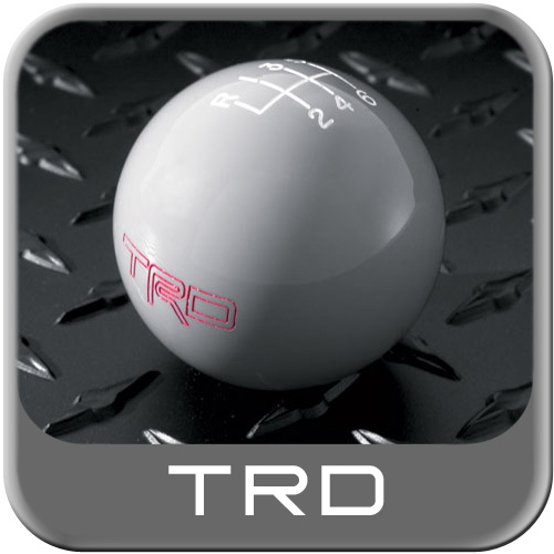 Toyota Shift Knob Gray w/TRD Logo 6 Speed Manual Trans Genuine Toyota #PTR26-35060