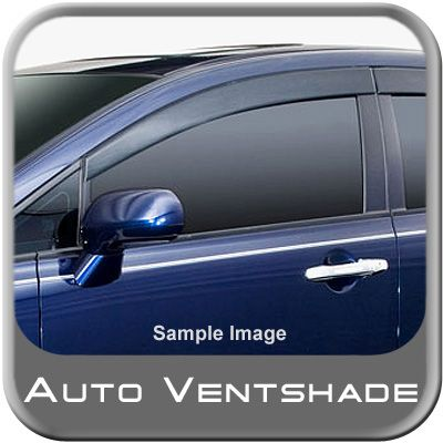 Chevy Avalanche Rain Guards / Wind Deflectors 2007-2013 Seamless Ventvisor Dark Smoke Acrylic 4-piece Set Auto Ventshade AVS #894007