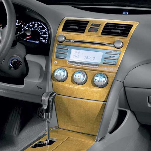 Toyota Camry Wood Dash Applique 2007 XLE Blonde Wood Style Navigational System Trim Genuine Toyota #PTS02-33074