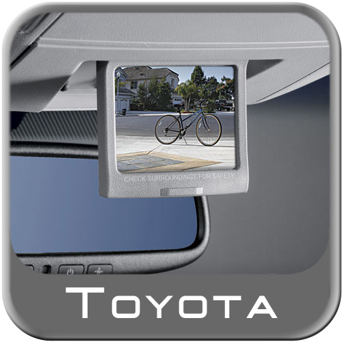 Toyota Sequoia Back up Monitor 2008-2009 Graphite Genuine Toyota #PT923-00081-11