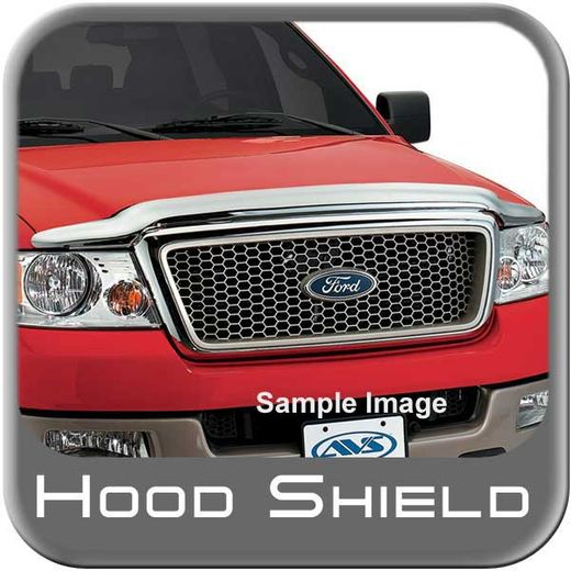 Ford F450 Truck Bug Deflector 2008-2010 Hood Shield Wrap Style Chrome Auto Ventshade AVS #680718