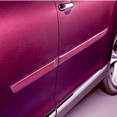 Toyota Highlander Body Side Moldings 2008-2010 Wave Line Pearl (color code 8S7) Set of 4 Genuine Toyota #PT29A-48080-08