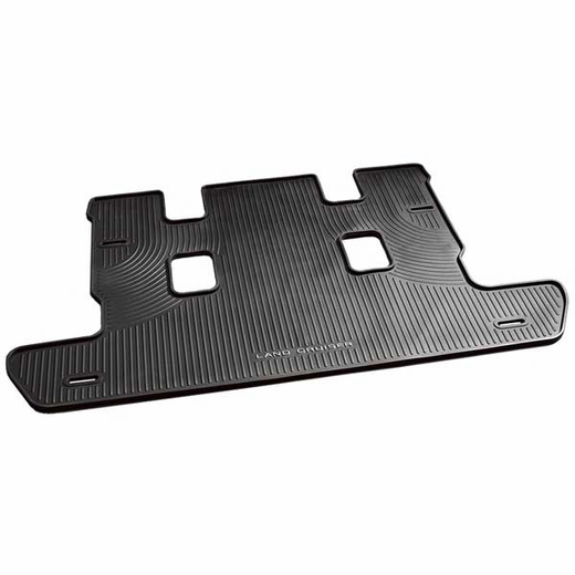 Toyota Land Cruiser Cargo Mat 2008-2020 Rubber, All-Weather Black Genuine Toyota #PT908-60087-02