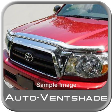 Toyota Sequoia Bug Deflector 2008-2015 Hood Shield Wrap Style Chrome Auto Ventshade AVS #680544
