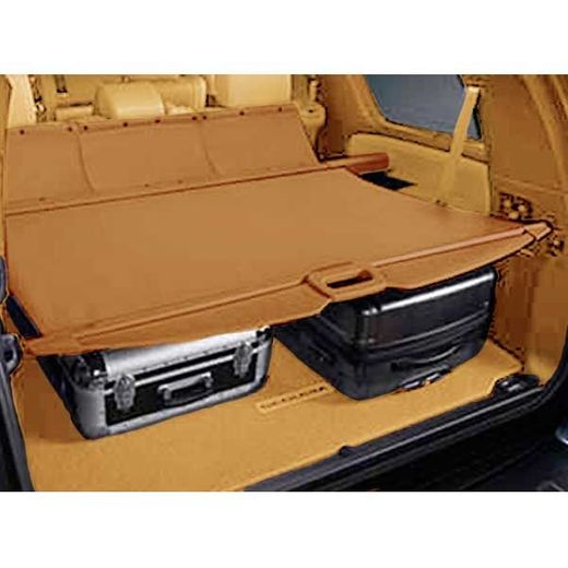Toyota Sequoia Cargo Cover 2008-2018 Red Rock Brown Genuine Toyota #PT311-0C080-21