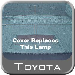 Toyota Corolla Third Brake Light Cover 2009-2013 Charcoal Genuine Toyota #PT593-02090-10