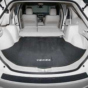 Toyota Venza Cargo Mat 2009-2016 Rubber, All Weather Black Genuine Toyota #PT908-0T091-02