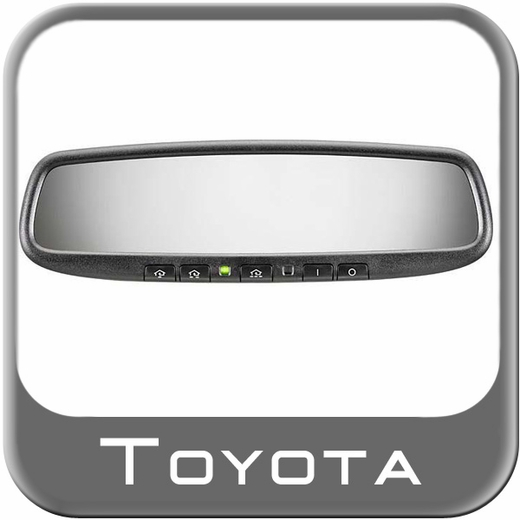 Toyota Prius Rear View Mirror 2010-2011 Auto Dimming Rear View Mirror w/Homelink w/ Programmable Buttons Genuine Toyota #PT374-47100