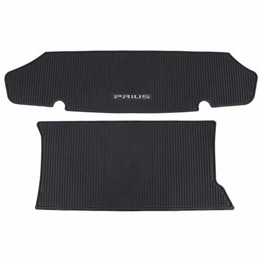 Toyota Prius Trunk Mat 2010-2015 All Weather Style Surface Black Genuine Toyota #PT908-47101-02