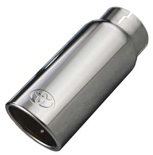 Toyota Tundra Exhaust Tip 2012-2018 Brilliant Chrome Sold Individually Genuine Toyota #PT932-34160