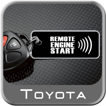 Toyota RAV4 Remote Engine Starter Kit 2013-2018 Complete Kit Genuine Toyota #PT398-42130