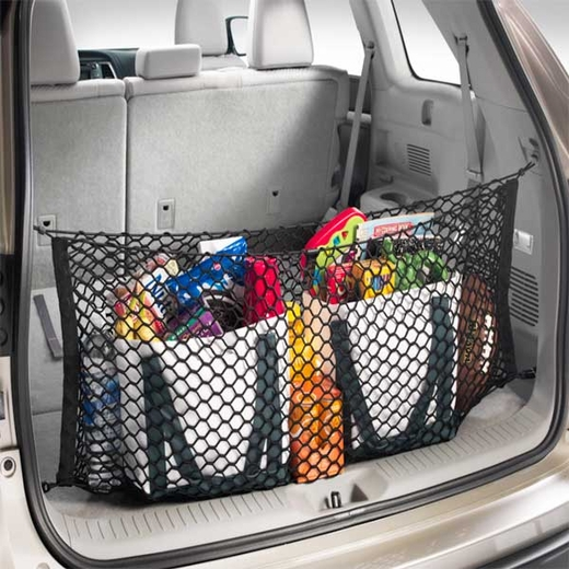 Toyota Highlander Cargo Net 2014-2017 Spider Web Style Black Sold Individually Genuine Toyota #PT347-48140