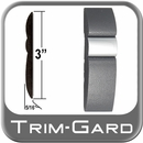 "3"" Wide Gray-Chrome Body Side Molding Sold by the Foot, Trim Gard® # GMAV-01"