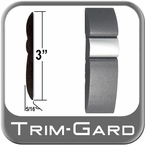 "3"" Wide Gray-Chrome Body Side Molding Sold by the Foot, Trim Gard® # GMAV"