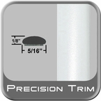 "5/16"" Wide Arctic Frost Wheel Molding Trim ( PT73 ), Sold by the Foot, Precision Trim® # 24200-73"