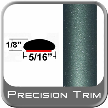 """5/16"""" Wide Green (Dark) Wheel Molding Trim ( PT78 ), Sold by the Foot, Precision Trim® # 24200-78-01"""
