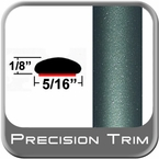 "5/16"" Wide Green (Dark) Wheel Molding Trim ( PT78 ), Sold by the Foot, Precision Trim® # 24200-78-01"