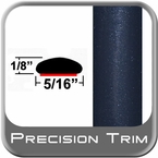 "5/16"" Wide Indigo Ink Wheel Molding Trim 8P4 ( CP22 ), Sold by the Foot, ColorTrim Plastics® # 40-22"