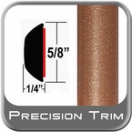 "5/8"" Wide Copper Wheel Molding Trim ( PT80 ), Sold by the Foot, Precision Trim® # 37130-80-01"