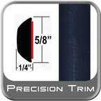 "5/8"" Wide Dark Blue Metallic Wheel Molding Trim ( PT28 ), Sold by the Foot, Precision Trim® # 37130-28"