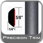 "5/8"" Wide Flint Mica Wheel Molding Trim 1E0 ( PT84 ), Sold by the Foot, Precision Trim® # 3724-84"